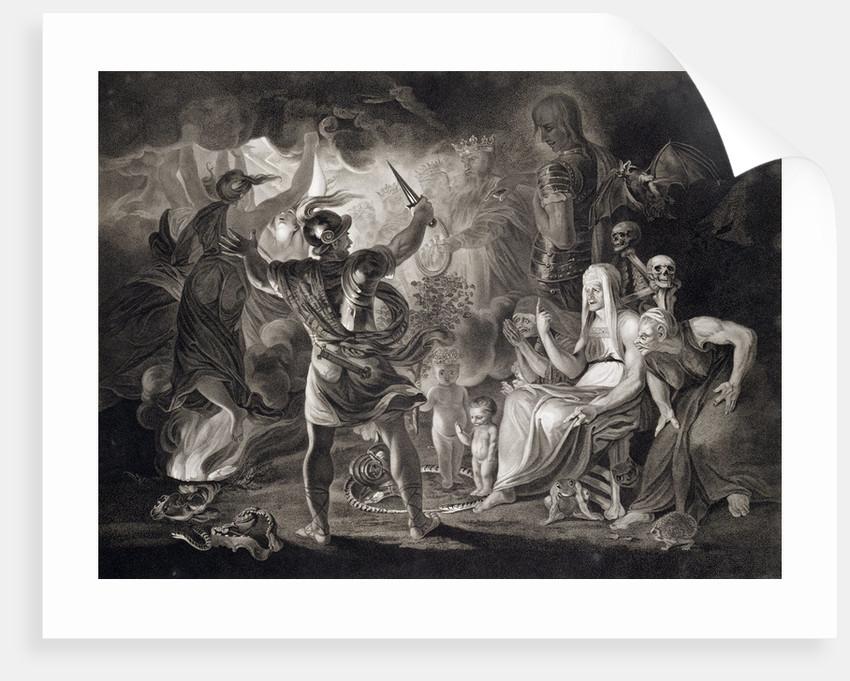 Macbeth, the Three Witches and Hecate by John Boydell