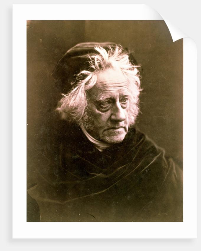 Sir John Frederick William Herschel, British astronomer by Julia Margaret Cameron