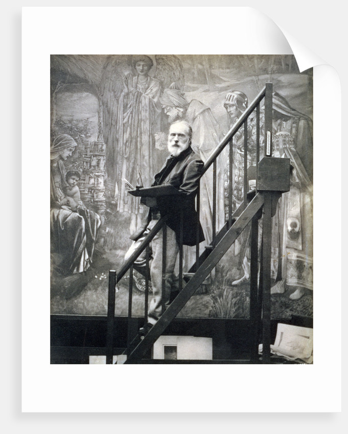 Sir Edward Burne-Jones, English artist by Barbara Leighton