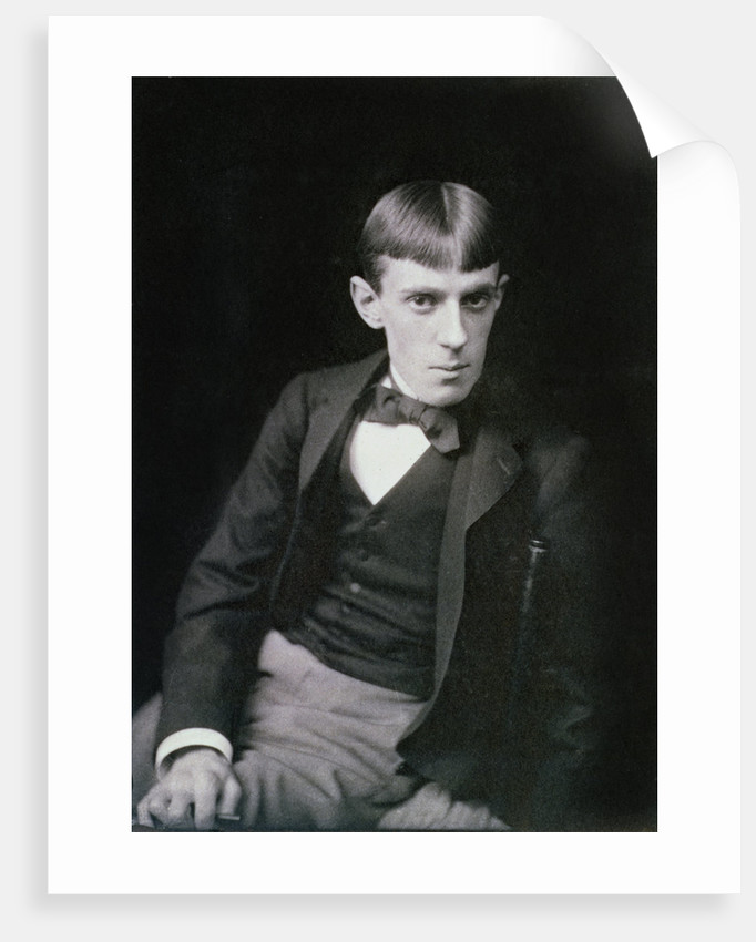 Aubrey Beardsley, British artist by Frederick Hollyer