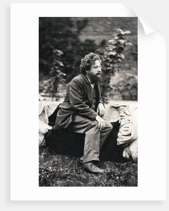 William Morris, English artist and designer by Frederick Hollyer