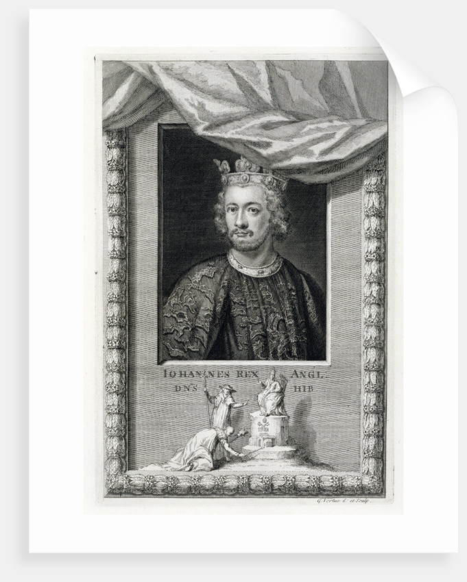 John, King of England by George Vertue