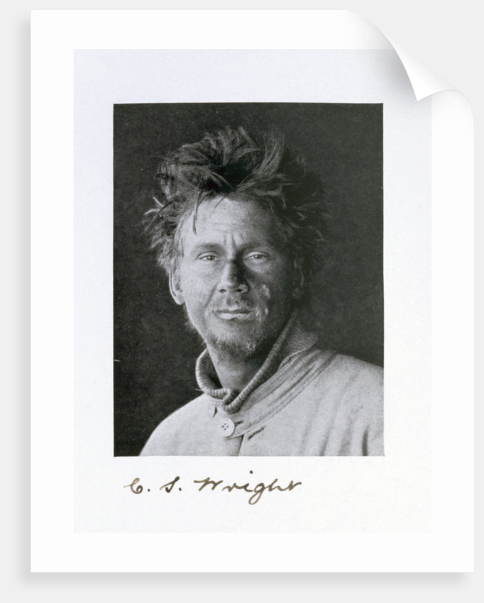 Charles S Wright, a member of Captain Scott's Antarctic expedition by Herbert Ponting