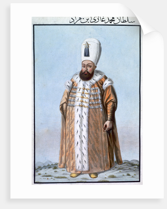 Mehmed III, Ottoman Emperor by Anonymous