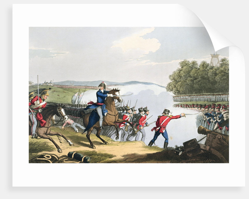 The Battle of Waterloo Decided by the Duke of Wellington by Matthew Dubourg