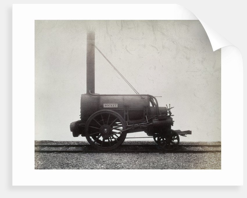 George Stephenson's 'Rocket' by Anonymous