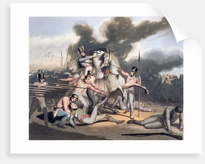 Battle of Talavera by T Fielding