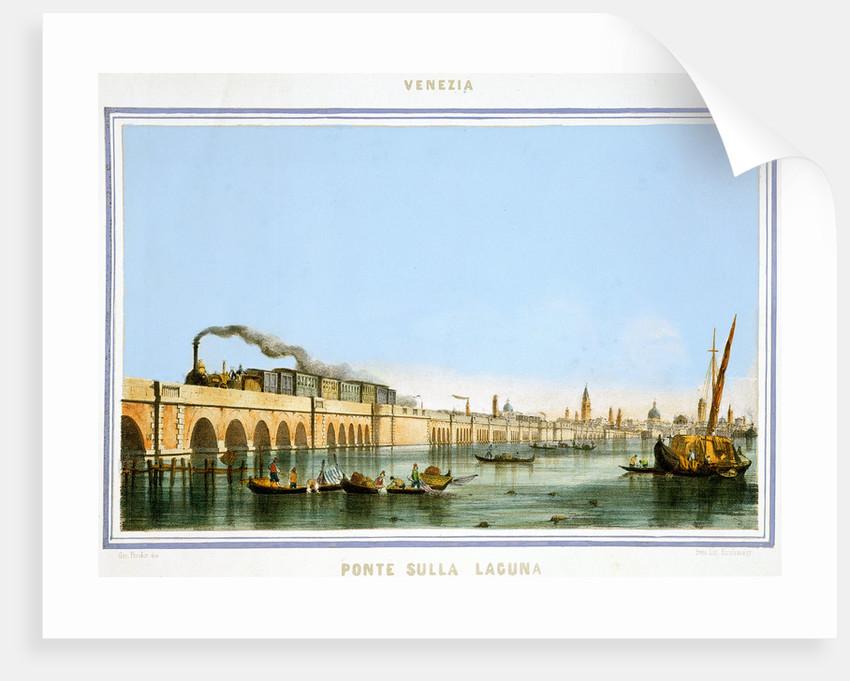 Bridge over the Lagoon by Giovanni Pividor