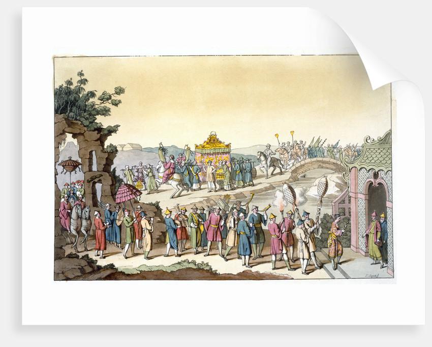 Procession to a Taoist traditional wedding by Giovanni Bigatti