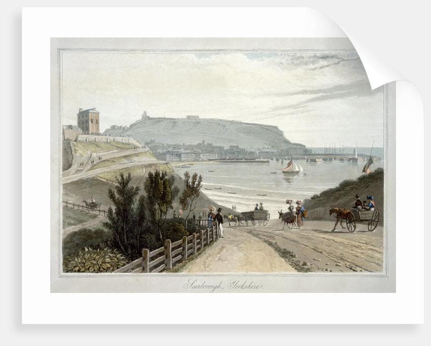 Scarborough by William Daniell
