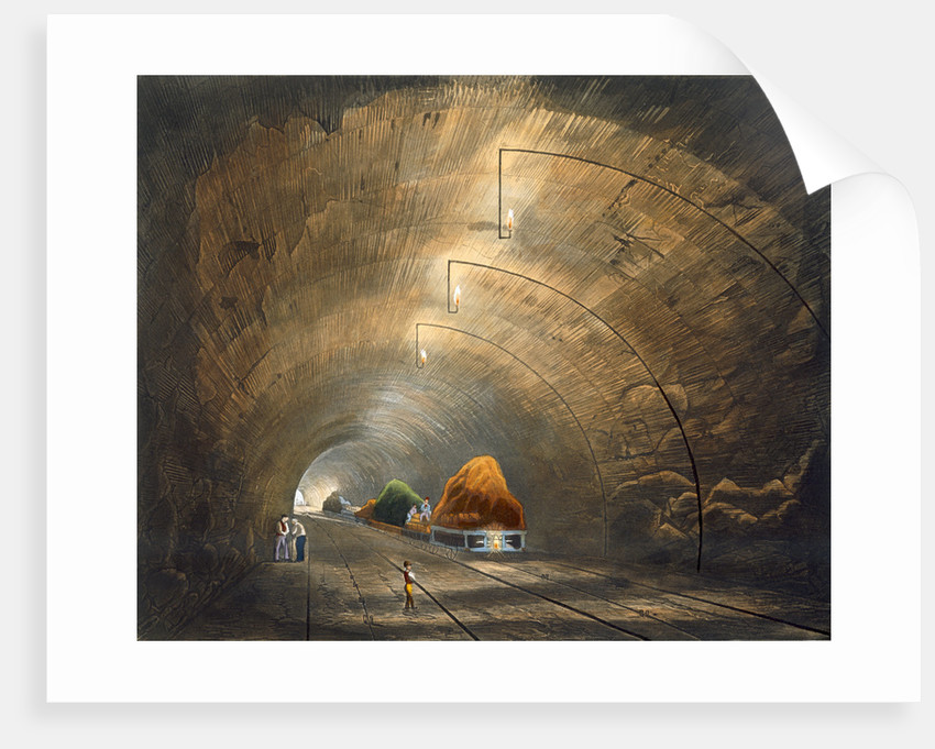 The Tunnel by Thomas Talbot Bury
