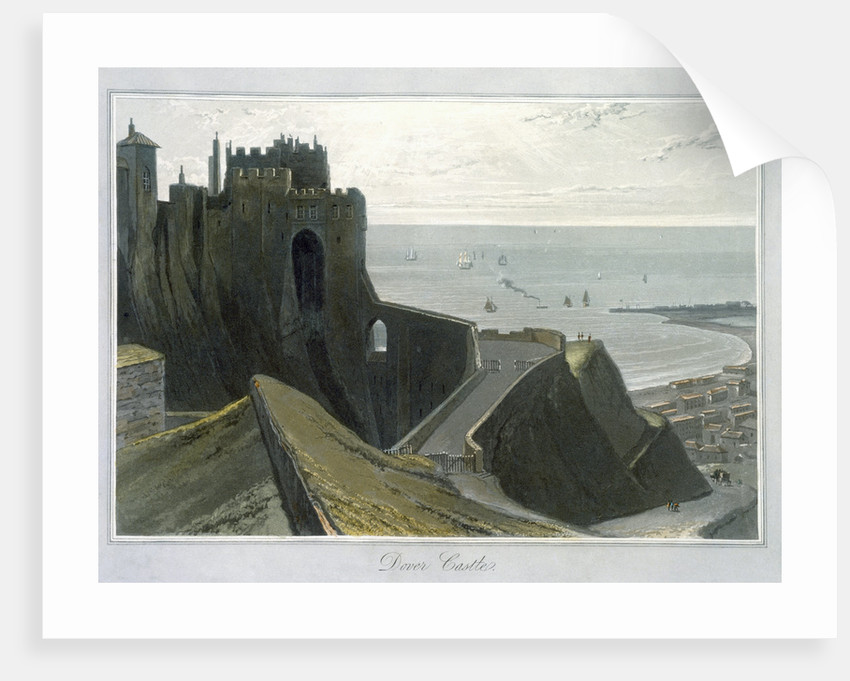 Dover Castle by William Daniell