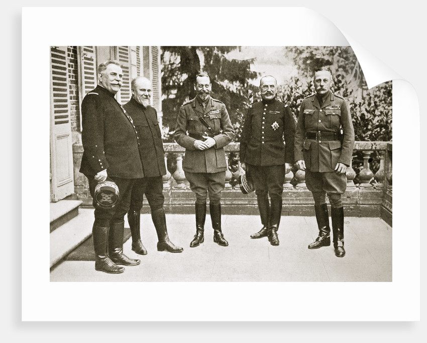 King George V in France by Anonymous