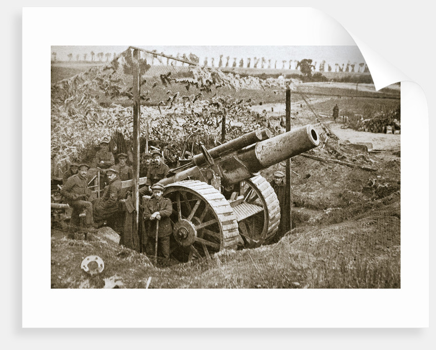 A heavy howitzer by Anonymous