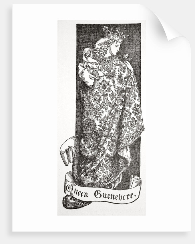 Queen Guenevere by Dora Curtis