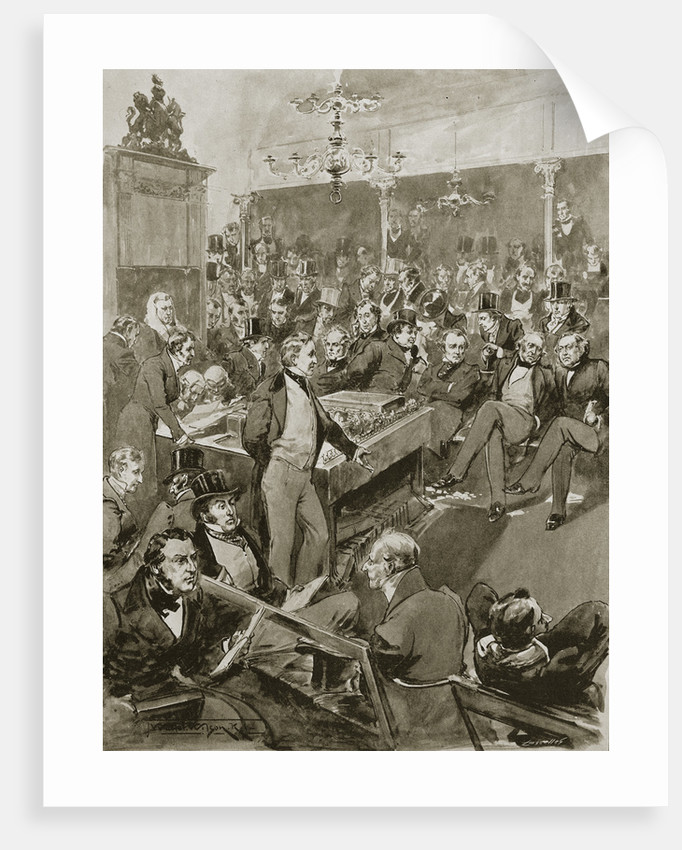 Scene in the House of Commons by Anonymous
