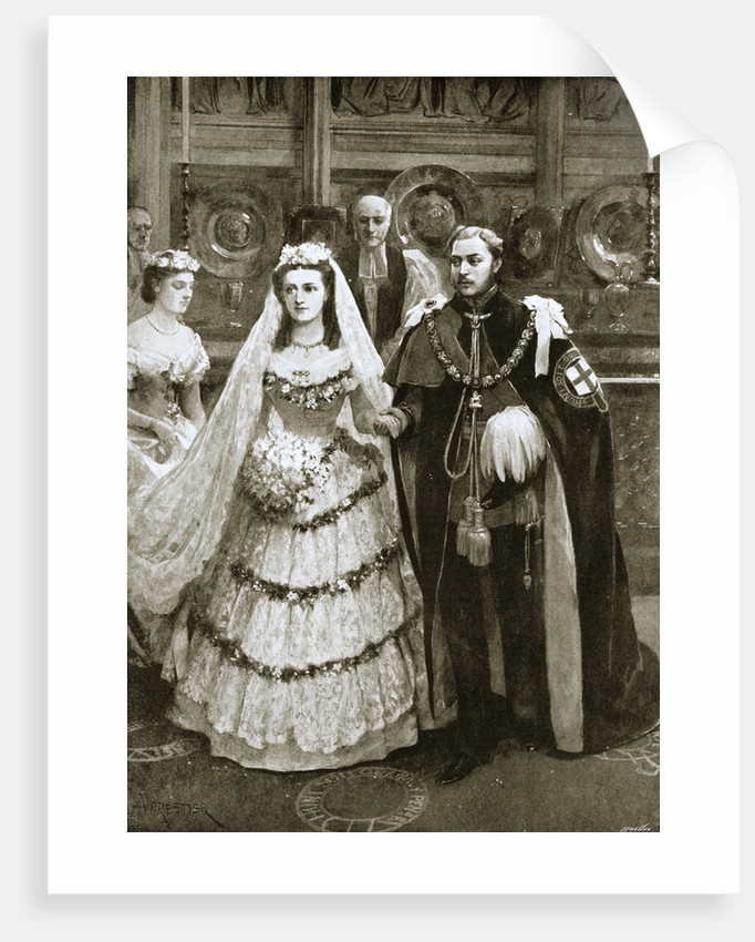 The marriage of the Prince of Wales and Princess Alexandra of Denmark by Anonymous