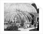 Making repairs to the Great Conservatory at Chatsworth by Anonymous