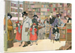 The Book Shop by Francis Donkin Bedford