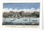 A View of the Royal Hospital at Chelsea and the Rotunda in Ranelagh Gardens by Thomas Bowles