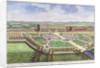 The Royal Palace of Hampton Court, London by Johannes Kip