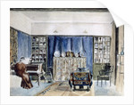 Interior of Kelmscott Manor, Oxfordshire by William Morris