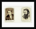John Ruskin, English artist, poet and critic, and William Holman Hunt, English artist by Elliott & Fry