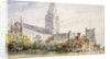 Chichester Cathedral, Sussex by John Constable