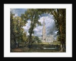 View of Salisbury Cathedral from the Bishop's Grounds, Wiltshire by John Constable
