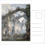 Inside of Tintern Abbey, Monmouthshire by JMW Turner