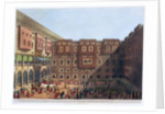 Mamelukes Exercising in the Square of Mourad Bey's Palace by Thomas Milton
