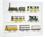 Coaches employed on the Liverpool and Manchester Railway by Henry Pyall