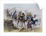 The Camel Train by Rouargue Brothers