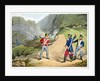 A British soldier Taking Two French Officers at the Battle of the Pyrenees by Matthew Dubourg