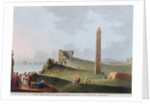 The Obelisks at Alexandria, called Cleopatra's Needles by Thomas Milton