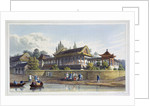 Summer Palace of the Emperor, Opposite the City of Tien-Sing by J Clark