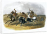 Horse Racing of Sioux Indians near Fort Pierre by Du Casse and Doherty