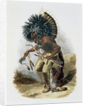 Pehriska-Ruhpa, Minatarre Warrior in the Costume of the Dog Dance by Rene Rollet