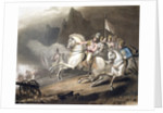Battle of the Pyrenees by T Fielding