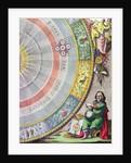 Nicolaus Copernicus by Andreas Cellarius