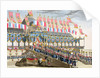 Sacred Festival and Coronation of their Imperial Majesties by Francois Aubertin