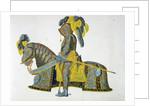 Armour worn by the Elector Christian I by Friedrich Martin von Reibisch