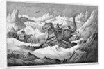 Hannibal and his war elephants crossing the Alps by Anonymous