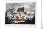 Defence of the breach at St Jean d'Acre by Thomas Sutherland