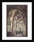 Tombs of the Knights Templar by Alessandro Sanquirico