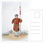 Yeoman of the King's Guard by William Henry Pyne