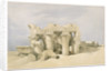 Temple of Sobek and Horuss at Kom Ombo by David Roberts