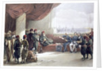 Interview with the Viceroy of Egypt at his palace by David Roberts