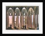 Joseph's Hall in the Citadel of Cairo by Thomas Milton