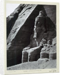 Seated colossus of Rameses II, Temple of Abu Simbel by Frank Mason Good